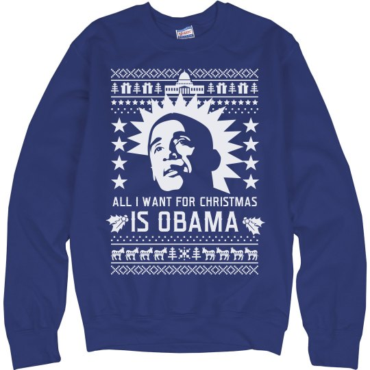 479926497d5c4 All I Want For Christmas Is Obama