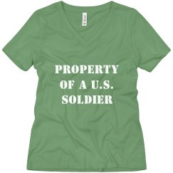 Simple Property Of A U.S. Soldier
