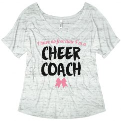 No Time For Cheer Coach