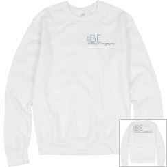 Unisex Sweatshirt Logo Front and Back