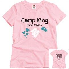 Adult Size - Camp King Mrs. King Shirt