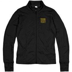 Custom Name Track & Field Training Jacket