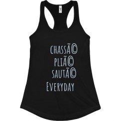 Chassé, Plié, Sauté, Everyday Flowy Tank