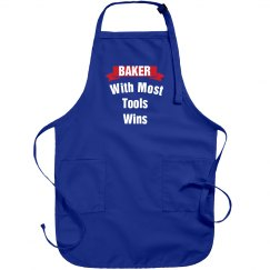 Baker with most tools win