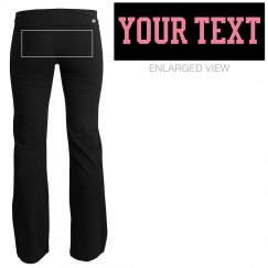 Your Text Yoga Pants