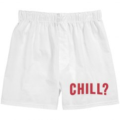 Netflix And Chill Matching Boxer
