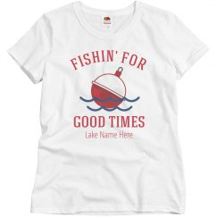 Custom Relaxed Fishing For Good Times
