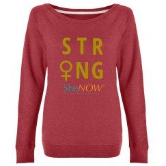 SheNOW #STRONG - sweatshirt