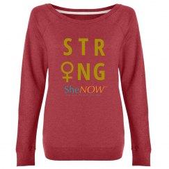 SheNOW #STRONG - sweatshirt