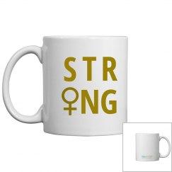 SheNOW #STRONG - mug