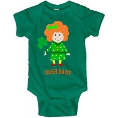 Irish Baby Romper