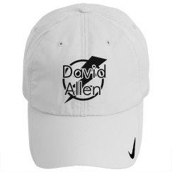 DA White Adjustable Hat