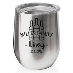 Custom Family Winery Tumbler