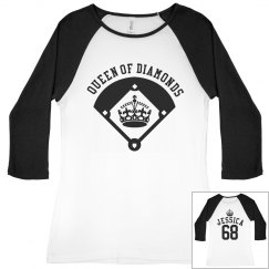 Softball Diamond Queen