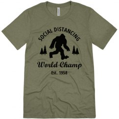 Big Foot Social Distance Champ