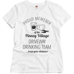 Custom Neighborhood Driveway Drinking Team