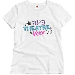 Ladies Theatre T Shirt
