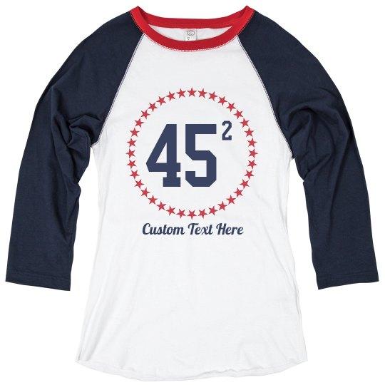 45 Impeachment Custom Tee