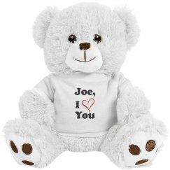 Joe's Love Bear