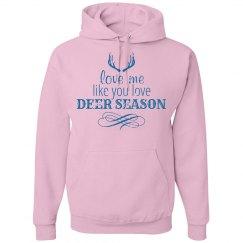 Love like deer season LS