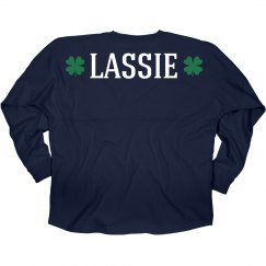 Irish Lassie Shamrocks