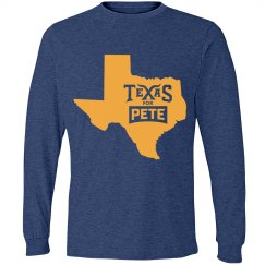 State Logo - Heather Blue - Long Sleeve