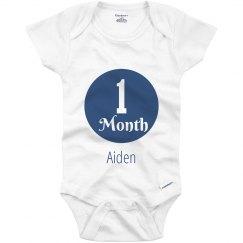 1 Month Baby Boy