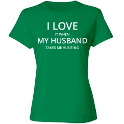 Love husband love hunting