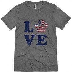 Patriotic Paw Love