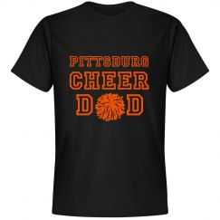 cheer dad blk t