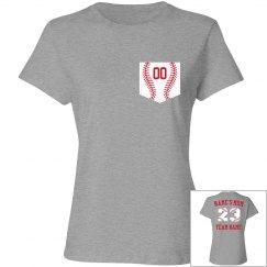 Baseball Mom Custom Name And Team