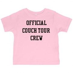 Pink Toddler Crew