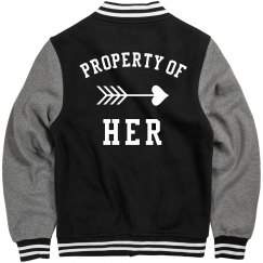 Letterman Property Of Her