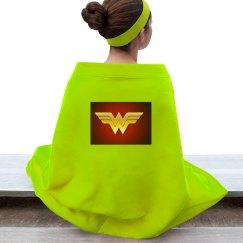 Wonder woman blanket.