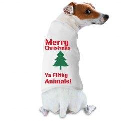 Christmas Dog Tee