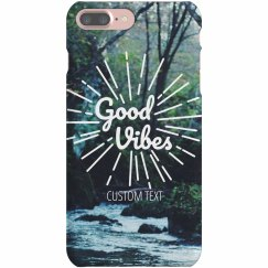 Good Vibes Forest iPhone Case