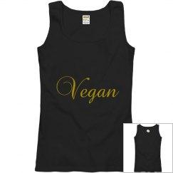 GOLD Vegan tank