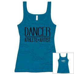 Ladies Dancer Athlete Artist Tank