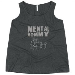 Mental Mommy Plus-Size Curvy Tank