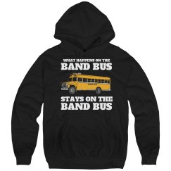 Funny Marching Band Bus Secrets Hoodie