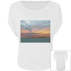 Seagull sunrise women's