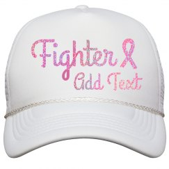 Glitter Pink Fighter Hat
