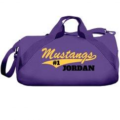 Duffle Bag- mustang logo