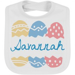Personalized Easter Egg Bib
