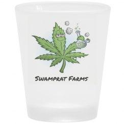 SWAMPRAT FARMS Shot Glass