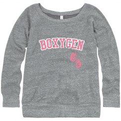 Womens Boxygen Sweatshirt