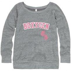 Womens Boxygen Sweatshirt