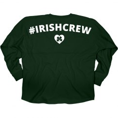 Irish Crew Shamrock Heart
