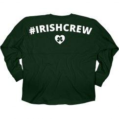 Irish Crew Shamrock Heart