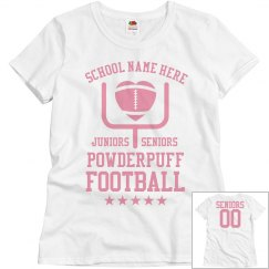 Budget Priced Powderpuff Football Shirts Seniors